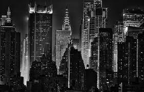 chrysler building black and white wallpaper. photo wallpaper light skyscrapers new york lights night noir the chrysler building black and white r