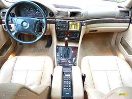 BMW Convertible bmw 740il 2000 : 2000 BMW 7 Series 740iL Sedan Sand Dashboard Photo #66466935 ...