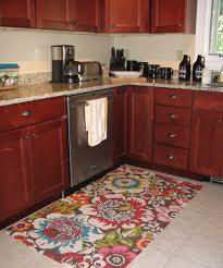 fancy kitchen rug for black sets custom area rugs roses fruit
