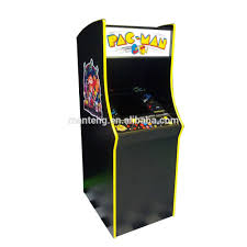 Ms Pacman Cabinet Ms Pacman Cabinet With Galaga Pac Man Upright Video Arcade Game