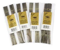scroll saw blades for metal. 144pcs/bag swiss scroll saw glardon vallorbe jewelry blades jig cutting metal straight for w
