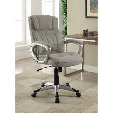 hon pillow soft chair. Serta Executive Office Chair In Glacial Grey Linen, Metallic Finish - Free Shipping Today Overstock 22326597 Hon Pillow Soft