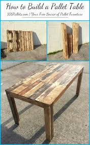 diy how to build a pallet table 101 pallets coffee with storage make furn