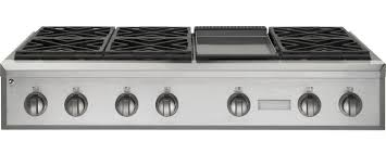 gas cooktop with grill. Exellent Cooktop ZGU486NDPSS GE Monogram 48 With Gas Cooktop Grill