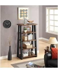 better homes and gardens shelves. Perfect Homes Better Homes And Gardens Mercer 5Shelf Tower Vintage Oak Inside And Shelves T