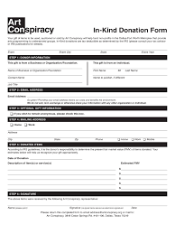 Donation And Sponsorship Form 20 Free Templates In Pdf