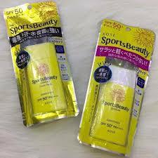 Kết quả hình ảnh cho Chống nắng Kose Sports Beauty UVWear SPF 50+/PA++++ 50ml