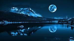 Blue Moon 13791 HD wallpaper