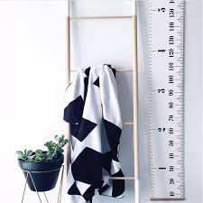 Kids Wall Growth Chart Us 7 68 36 Off Wooden Wall Hanging Baby Child Growth Chart Height Measure Ruler Wall Sticker For Kids Children Room Scandinavian Decor 20x200cm In