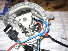 early w blower motor regulator replacement diy here now cut the four wires going into the new harness connector cut the wires as far away from the new regulator as possible note that the blue one goes