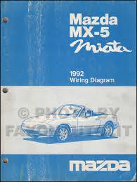 1992 mazda mx 5 miata wiring diagram manual original