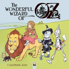 wonderful wizard of oz 2019 wall calendar calendars books gifts