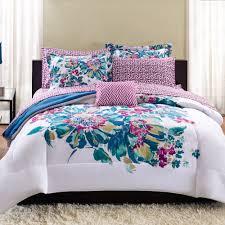 mainstays floral bed in a bag bedding set  walmartcom