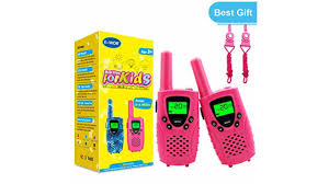 Walkies Talkies for Kids, 22 Channels FRS/GMRS UHF Two Way Radios 4 Miles Handheld Mini Kids Walkie Boys Girls Best Gifts Toys Built in TOP Gift Age 3-12,