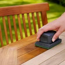 wooden garden furniture oil