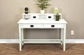 office computer desk. Wood Home Office Desk White Brook Designer Mission Solid Writing Computer