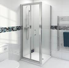 bifold shower enclosure 900