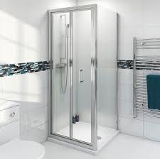 bifold shower enclosure 900