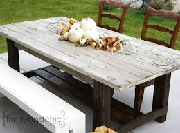 distressed looking furniture. diy farmhouse table distressed looking furniture u