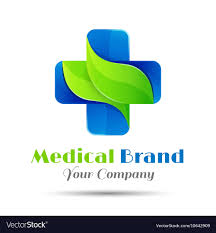 pharmacy design company medical pharmacy logo design template royalty free vector
