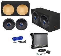 Bundle: Kicker 11DX1000.1 Mono Car Amplifier+2 Rockville 15