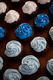 Blue And White Baby Shower Cupcakes Lolos Cakes Sweets