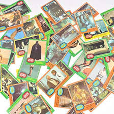 1977 Topps Star Wars Non Sport Used Trading Cards Lot Of 50 Original Vintage