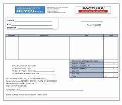 Formato Factura Regimen Simplificado Excel Unique Formato De