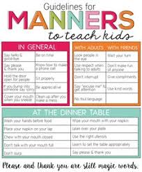 good manners will bloom all over your classroom the helpful good manners never goes out of style but it has to be taught 2tu