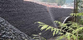 massive earthbag retaining walls