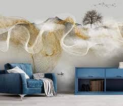 Wall Mural 3D Wallpaper Chinese Zen ...