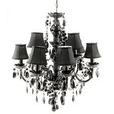 chandelier black 9 suspended lights nono classic design