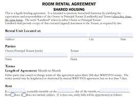 Room For Rent Contract 4 Room Rent Agreement Format Templates Pdf Free Premium Templates