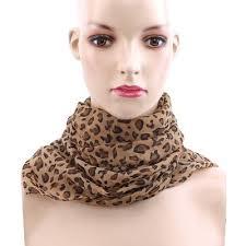 fashion lady leopard print scarf women