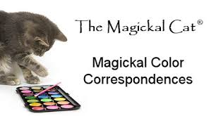 Astral Candle Color Charts Color Magick Reference Chart The Magickal Cat Online Pagan