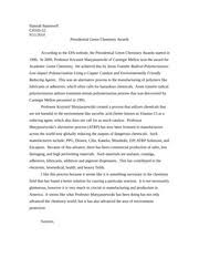 green chemistry study resources 2 pages green chemistry award