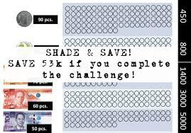Ipon Challenge Chart Ipon Challenge 2018 Flexible Money Saving Challenge For