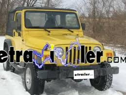 trailer wiring harness installation jeep wrangler trailer wiring harness installation 2000 jeep wrangler etrailer com