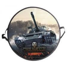 <b>Ледянка</b> 1toy <b>World of Tanks</b> 52 см круглая Т58480 Артикул ...