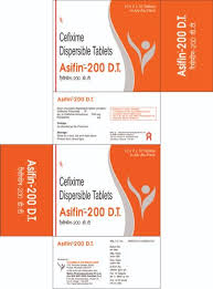 Asifin- <b>200 D.T</b> Tablets, सेफिक्सिम - Terrace Pharmaceuticals ...