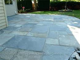 blue stone patio landscape services patios around pool