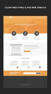 free html5 web template free html5 web template tutorial on behance