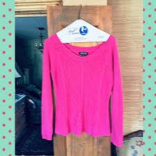 Ny Co Hot Pink Sweater