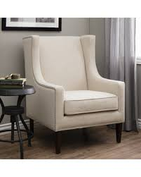 white wingback chair. Maison Rouge Whitmore Lindy Wingback Chair (Cream (Ivory)) White W