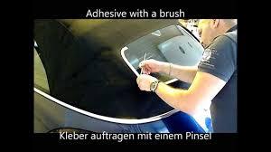 Vw Beetle Cabrio Heckscheibe Löst Sich Vom Verdeck Reparieren Verkleben Reparieren