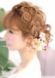 浴衣 髪型ロングで人気の簡単ヘアアレンジまとめ 結婚ナットク