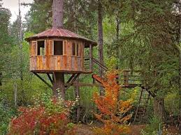 Tree Houses For Kids Backyard Hobbit Hole In Lieu Of Playhouse Treehouses For Children