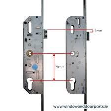 gu ferco multipoint door lock new old parison