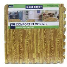 Best Step 4 Pk fort Flooring Simulated Wood Grain Finish 21