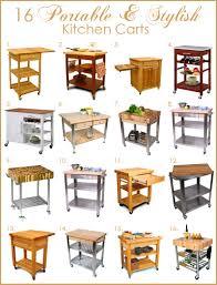 Portable Kitchen Island Kitchen Cart Kitchen Island Carts